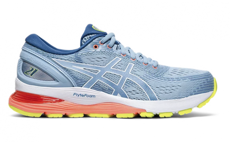 Asics Gel-Nimbus 21 Heritage blue/lake D...