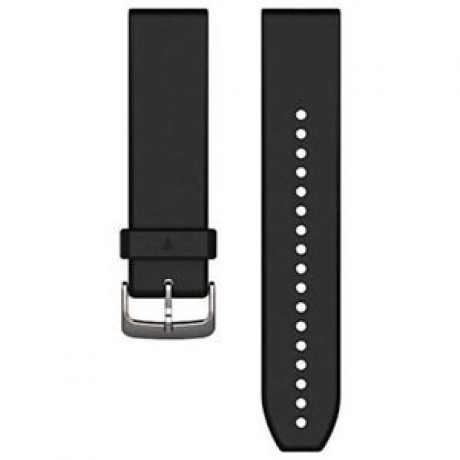 Garmin Quickfit 22mm Silikone Sort/Sølv ...