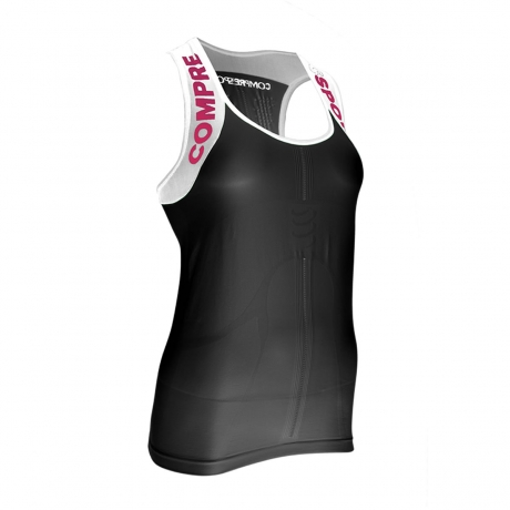 Compressport Trail Shirt Tank V2 Black W