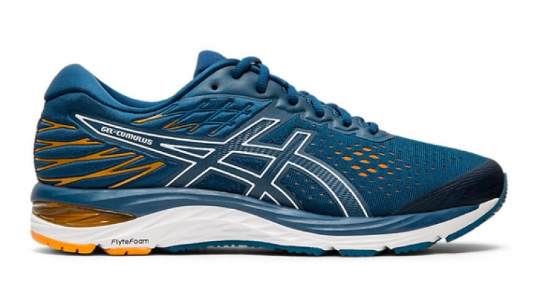 Asics Gel-Cumulus 21 Blue/Orange/White -...