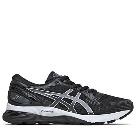 Asics Gel-Nimbus 21 Dame Black/Dark Grey