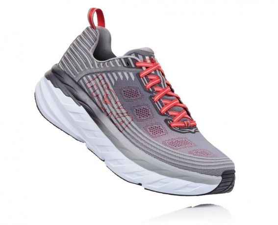 HOKA ONE ONE Bondi 6 Herre Alloy/Steel G...