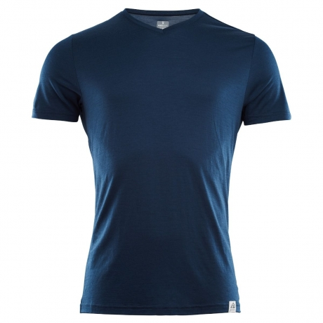 Aclima Lightwool T-shirt Insignia Blue H...