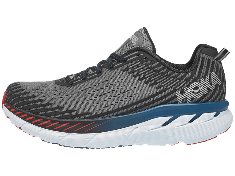 Hoka One One Clifton 5 Herre Frost Gray/Ebony