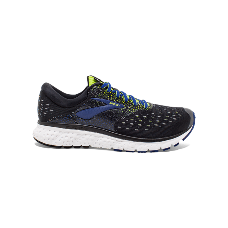 Brooks Glycerin 16 Black/Lime/Blue Herre