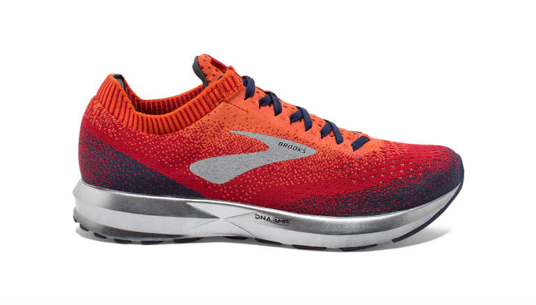 Brooks Levitate 2 Herre Orange/Red/Navy