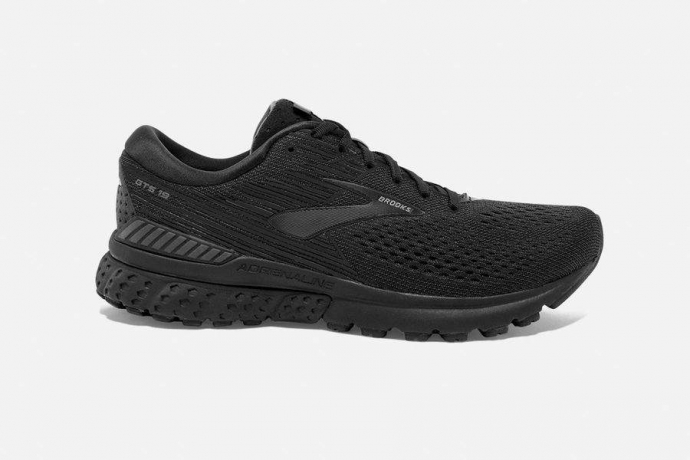 Brooks Adrenaline GTS 19 Black/Ebony Her...