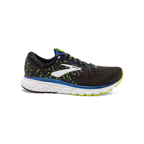 Brooks Glycerin 17 Herre Black/Blue/Nigh...