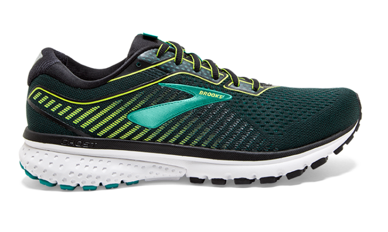 Brooks Ghost 12 Herre - Grøn/Gul