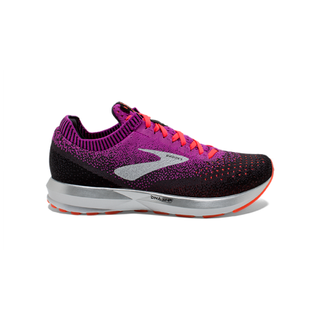 Brooks Levitate 2 Dame Purple/Fiery Cora...