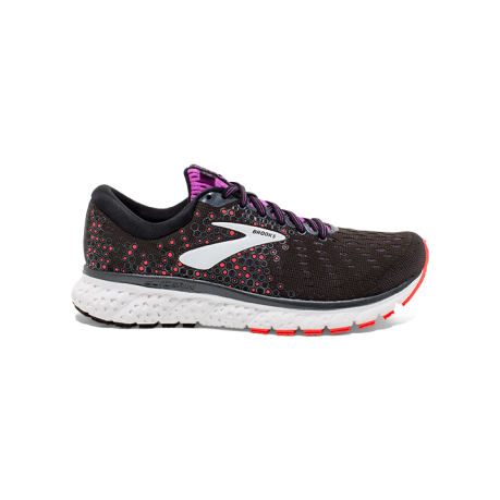 Brooks Glycerin 17 Dame Black/Fiery Cora...