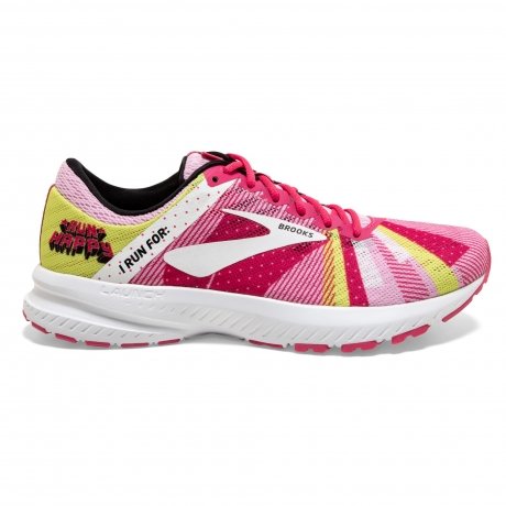 Brooks Launch 6 Run Happy Pink/White/Lem...