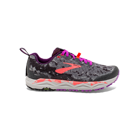 Brooks Caldera 3 Black/Purple/Coral Dame