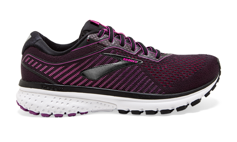 Brooks Ghost 12 Dame - Lilla