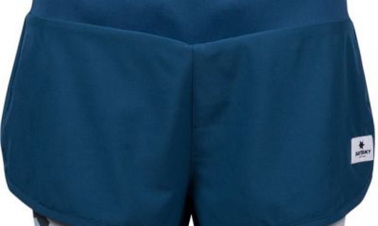 Saysky 2 in 1 Shorts Poseidon Blue/Camo ...