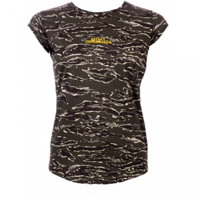 Saysky Tiger Combat Tee Dame Forest Tiger Camo