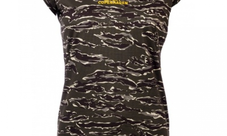 Saysky Tiger Combat Tee Dame Forest Tige...