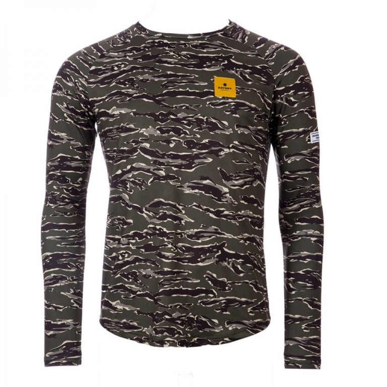 Saysky Tiger Pace LS Tee Unisex Forest Tiger Camo