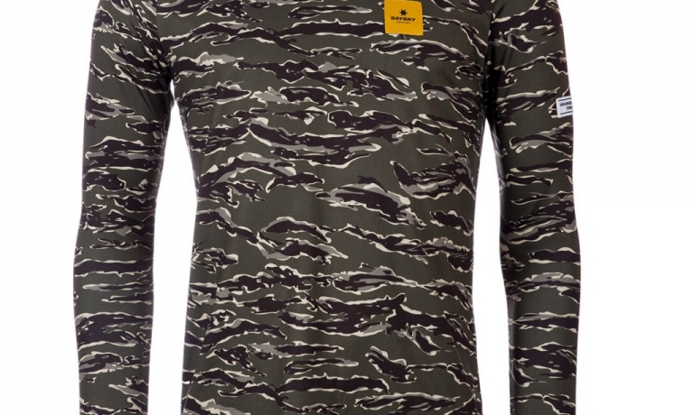 Saysky Tiger Pace LS Tee Unisex Forest T...