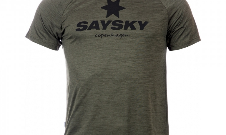 Saysky Classic Pace Tee Unisex Olive Gre...