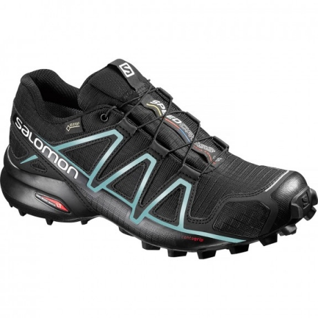 salomon Speedcross 4 GTX Dame - Sort/Blå...