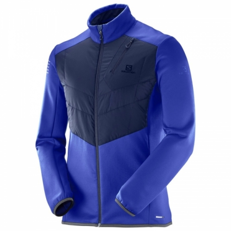 Salomon Pulse Warm Insulated JKT Surf th...