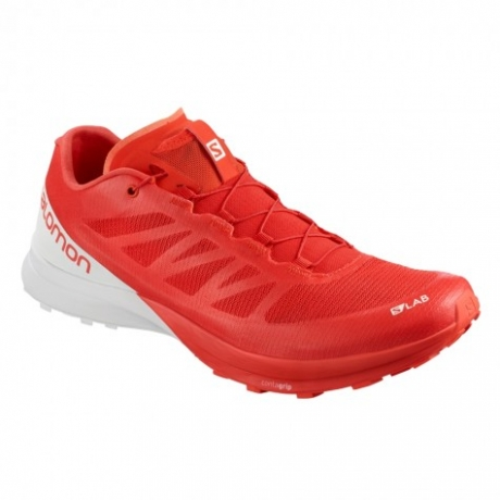 Salomon S/LAB Sense 7 Red/White