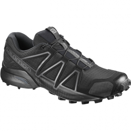 Salomon Speedcross 4 Wide Black Herre