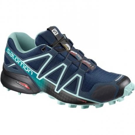 Salomon Speedcross 4 Wide Blue Dame