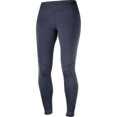 Salomon Elevate Warm Tight Dame Graphite...