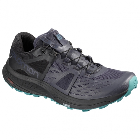 Salomon Ultra Pro Graphite/Black/Hydro D...