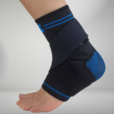 Zensah Ankle Support Gel + Strap