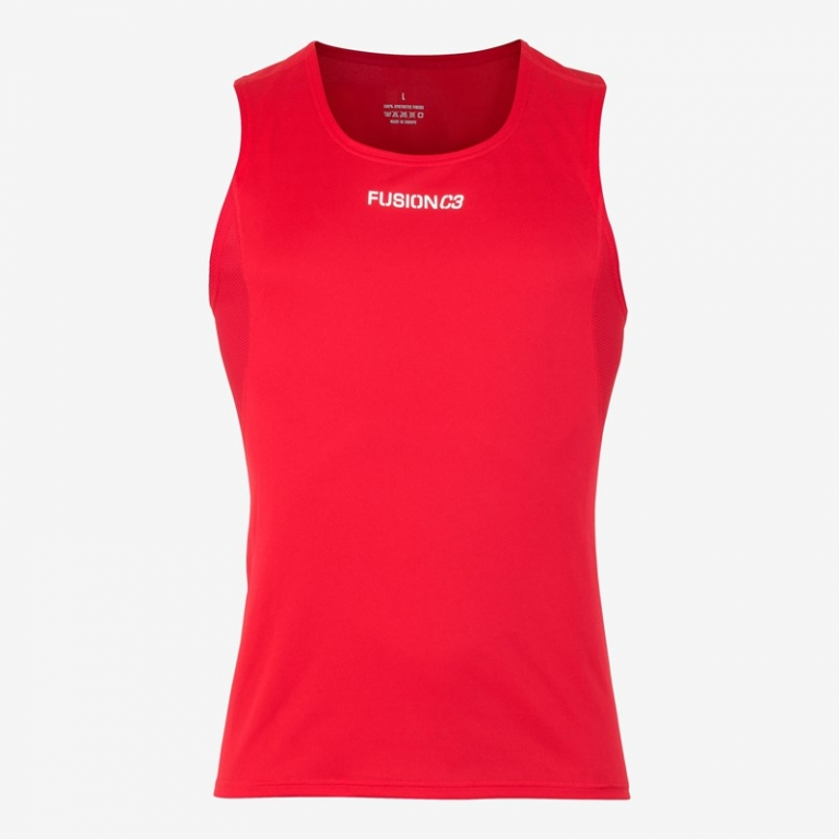 Fusion C3+ Singlet Red Dame