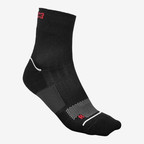 Fusion C3 Run Sock Black