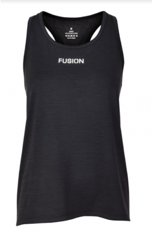 Fusion C3 Training Top Blackmelange - Da...