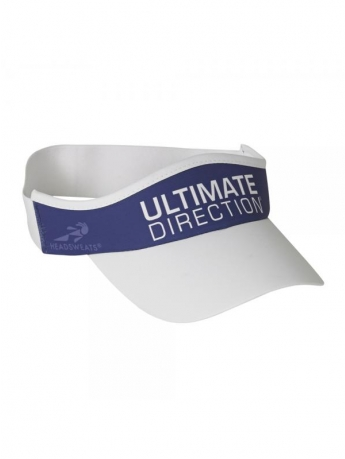 Ultimate Direction Tempo Visor Hvid/Blå
