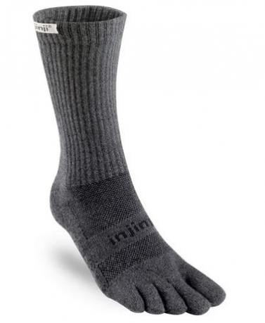 Injinji Trail Socks Midweight Granite