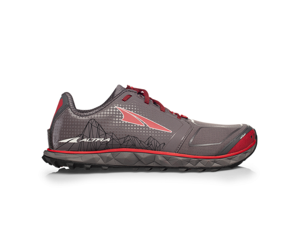 Altra Superior 4.0 Gray/Red Herre