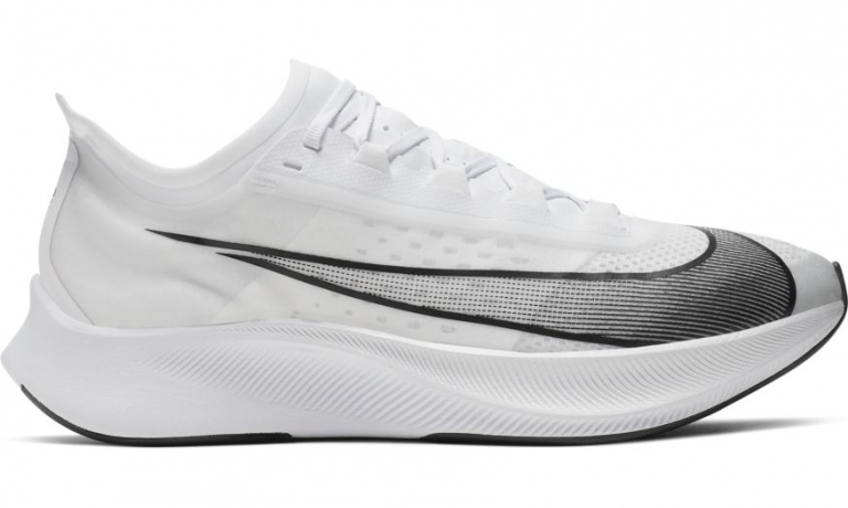 Nike Zoom Fly 3 Herre White/Atmosphere G...