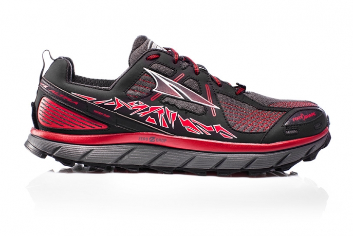 Altra Mens Lone Peak 3.5 Red