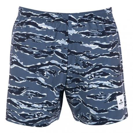 Saysky Tiger Pace Shorts Unisex Blue Tig...