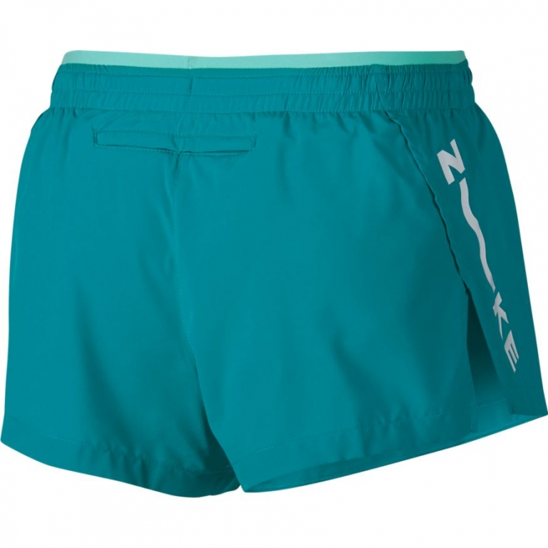 Nike Elevate TRCK Shorts Dame Spirit Teal/Tropical Twist/White
