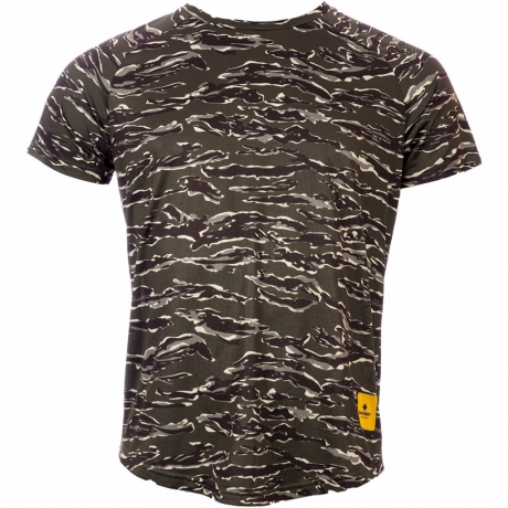 Saysky Pace Tee Unisex Forest Tiger Camo...