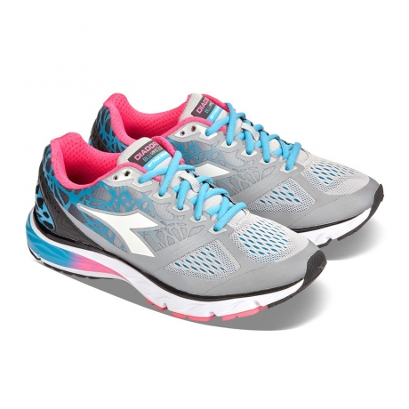 Diadora Mythos Blushield Bright Silver/W...