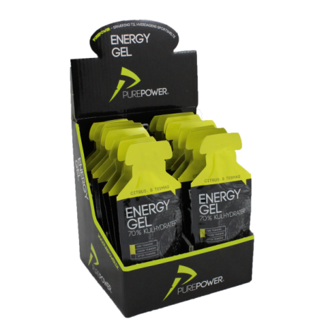 PurePower ENERGY GEL CITRUS-TE 18 STK