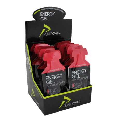 PurePower ENERGY GEL VANDMELON 18STK