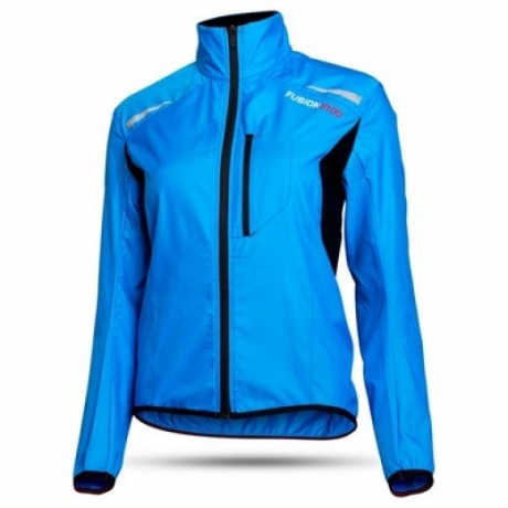 Fusion Mens S100 Run JKT Surf Blue