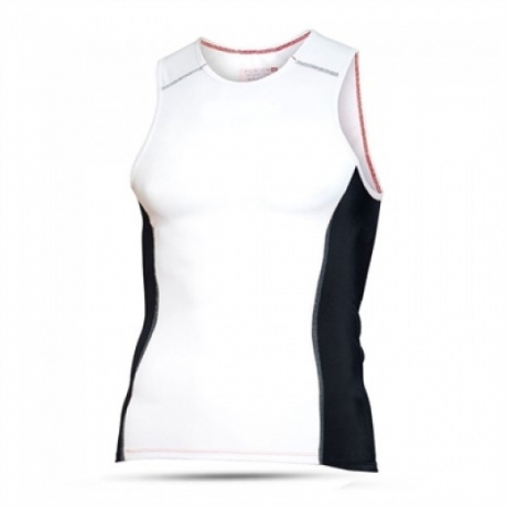 Fusion Mens Tri Top-White/Black