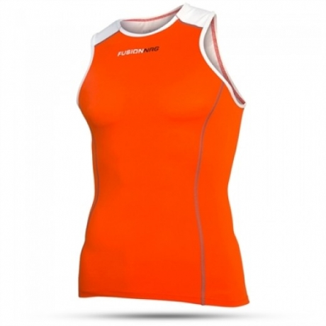 Fusion Mens Tri Top Orange