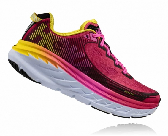Hoka One One Bondi 5 W Virtual Pink / Bl...